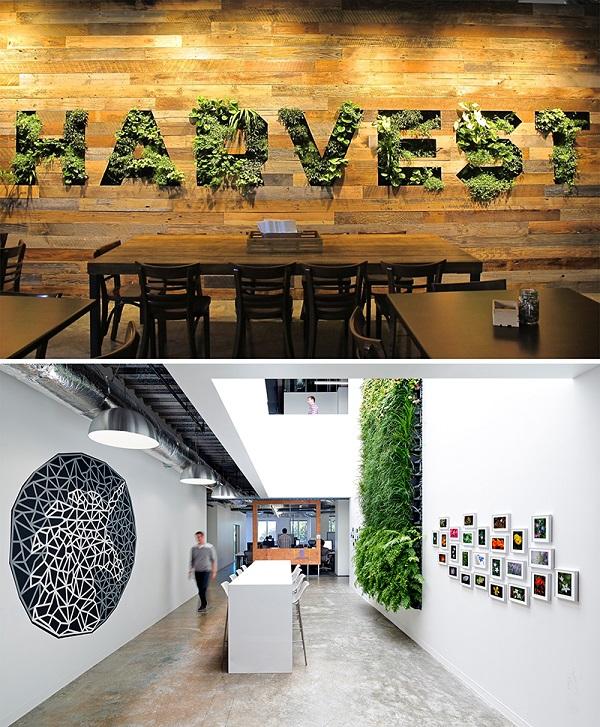 jardins verticais em escritórios_Facebook