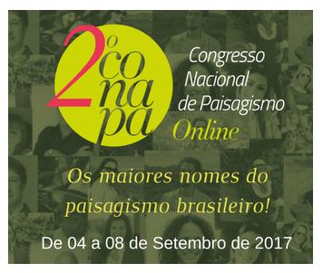 2º Congresso Nacional de Paisagismo
