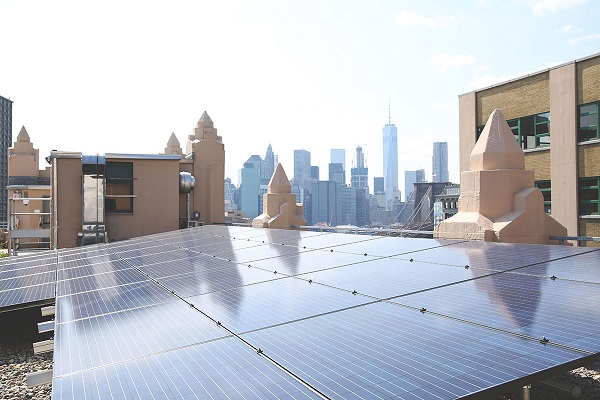 escritório sustentável energia solar