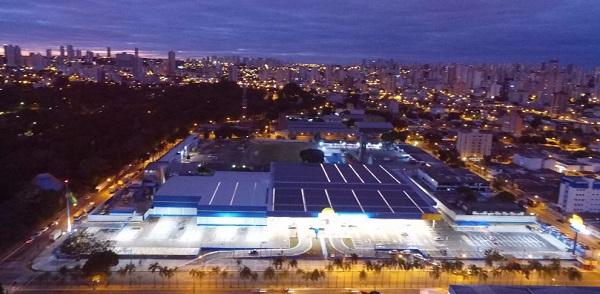 maior usina solar urbana do brasil em goiania