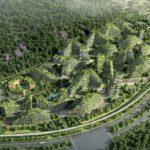 Forest City: uma cidade coberta por plantas e árvores na China