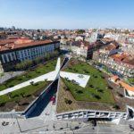 Revitalização de área eleva praça no Porto