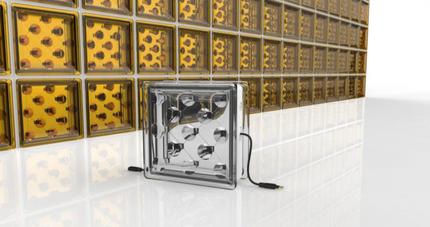 blocos de vidro energia solar