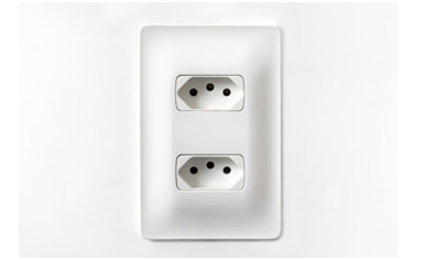 instalações elétricas mais sustentáveis - tomada