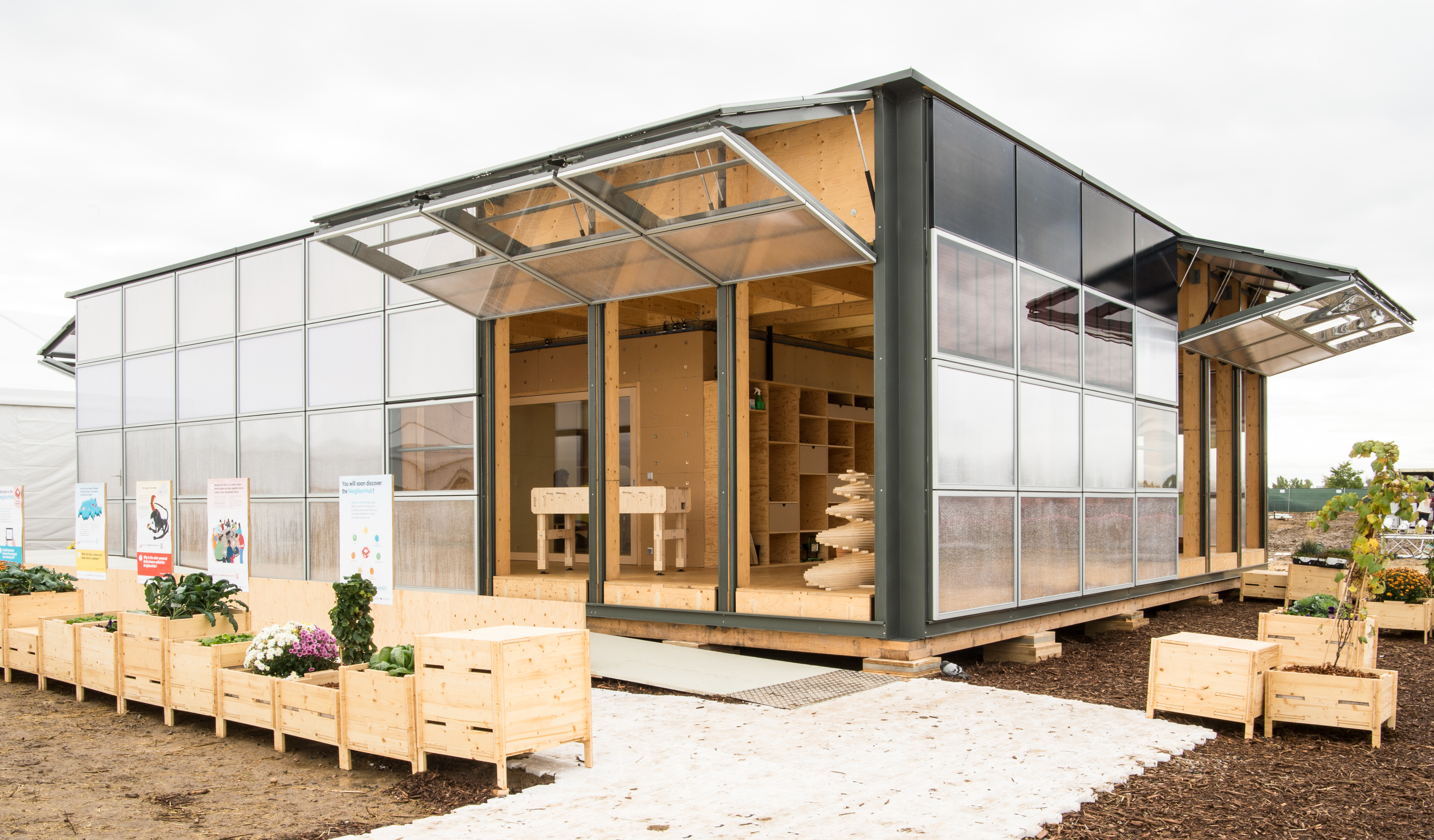 equipe su a vence o solar decathlon 2017 com o projeto neighborhub sustentarqui. Black Bedroom Furniture Sets. Home Design Ideas