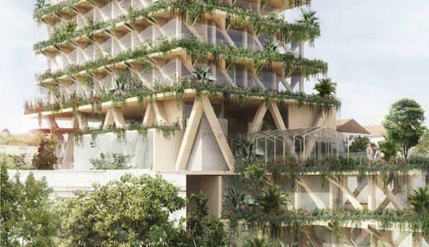 triptyque Edifício verde em São paulo