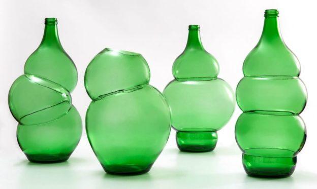 designer holandês garrafas de vidro