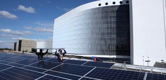 usina solar fotovoltaica TSE