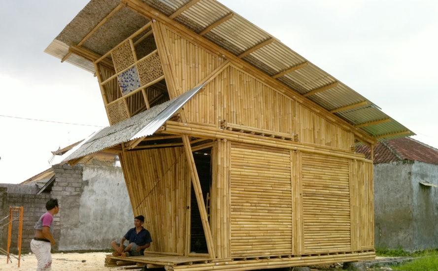 Abrigos de bambu em Bali