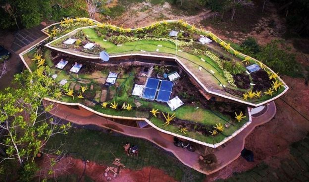 casa ecológica arquitetura orgânica